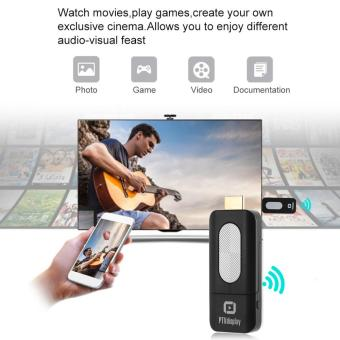PTVdisplay WiFi Display TV Stick Dongle Receiver 1080P Miracast Airplay DLNA for Android iOS Smart Phone Tablet PC to HDTV Projector Black - intl - 4