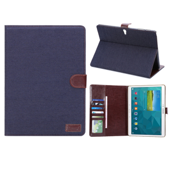PU Leather Tablet Cover for Samsung Galaxy Tab S 10.5T800/LTE(Black)