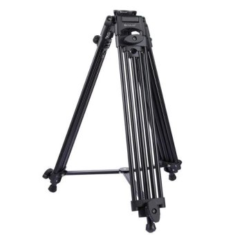 PULUZ Professional Heavy Duty Video Camcorder Aluminum Alloy Tripod For DSLR / SLR Camera, Adjustable Height: 62-160cm - intl - 2