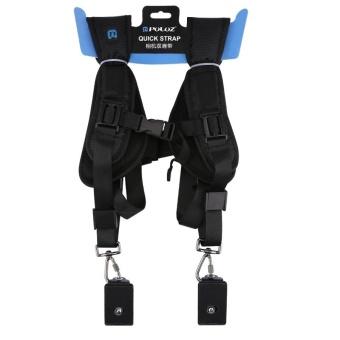 PULUZ Quick Release Double Shoulder Harness Soft Pad DecompressionFoam Shoulder Strap Belt For DSLR Digital Cameras - intl - 5