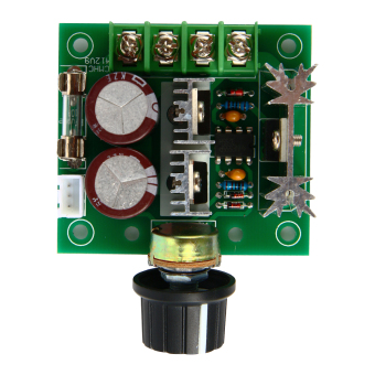 PWM DC Motor Speed Controller Switch 12V-40V 10A 13KHZ Pulse Width Modulation TE365-SZ (Multicolor)