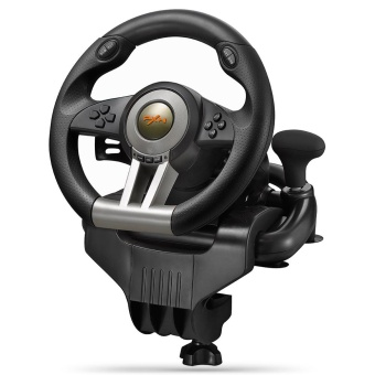 PXN - V3II USB Game Steering Wheel Plug and Play / Dual MotorVibration - intl
