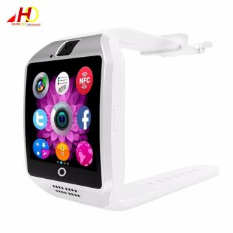 Q18 Smart Watch Phone w/ Pedometer/Anti-lost/Camera/SIM TF Card(White) - 3