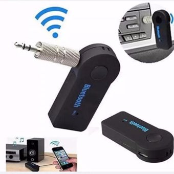 QF Wireless Bluetooth 3.5 Audio Stereo Music Car Reciever Adaptor Mic