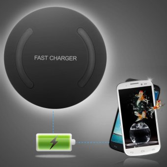 Qi Wireless Fast Charger Quick Charging Adapter for Samsung Galaxy S6 NOTE5 S7 S8 - intl