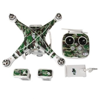 Quadcopter & Remote Controller Skin Decal Sticker For DJIPhantom 3 - 2