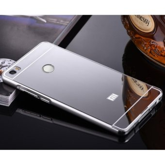 Quality Aluminum Metal Frame Plating Mirror case for Xiao m i MiMax(silver) - intl Price Philippines