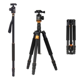 QZSD Q-999S Tripod 1460mm 6KG Camera Tripod with DetachableBallhead Kit For Digital SLR - intl Price Philippines