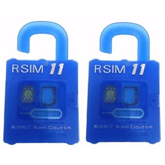 R-SIM RS-11 11 The Best Unlock and Activation SIM for iPhone4S/5/5C/5S/6/6Plus/7/7Plus set of 02 Price Philippines