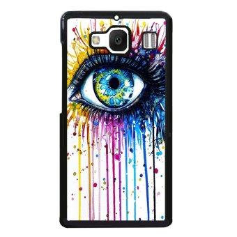 Rainbow Eye Pattern Phone Case for XiaoMi RedMi 2 (Black)