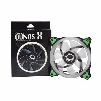 Rakk Ounos X 120mm Eclipse Green Led Fan