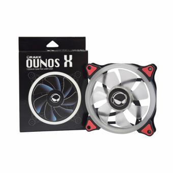 Rakk Ounos X 120mm Eclipse Red Led Fan