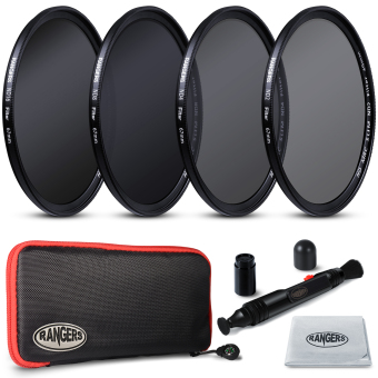 Rangers 67mm ND2 4 8 16 Filter Set Neutral Density + Cleaning Pen for Nikon RA20 Price Philippines
