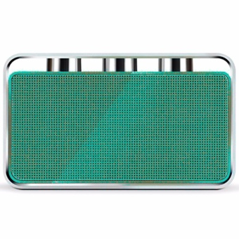 Rapoo A600 Portable Bluetooth NFC Speaker (Green/Silver) - 2