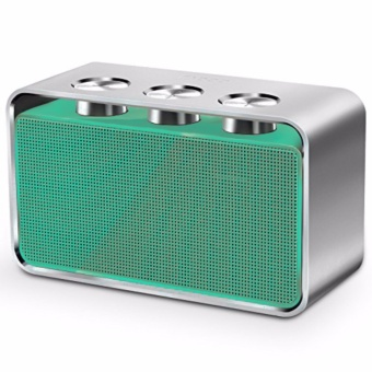 Rapoo A600 Portable Bluetooth NFC Speaker (Green/Silver)