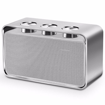 Rapoo A600 Portable Bluetooth NFC Speaker (White/Silver)