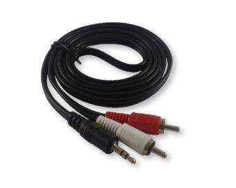RCA Audio to Stereo Jack 3.5mm 1.5 Meters