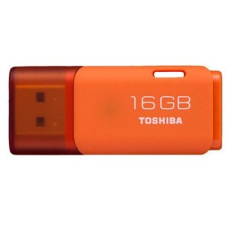 Real Capacity 16GB USB Flash Drive Quality Memory Stick Pen Drive(Orange)