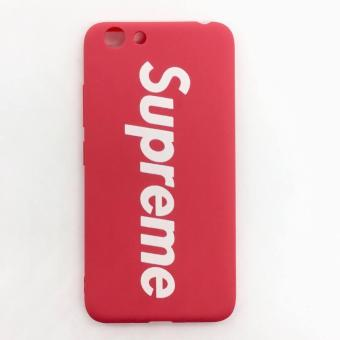 Red Supreme Silicon Case for Vivo Y53 2017