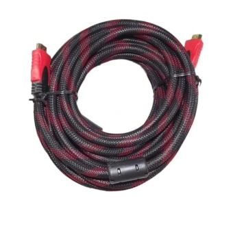 Red Wire HDMi to HDMi Cable 10 Meter Long