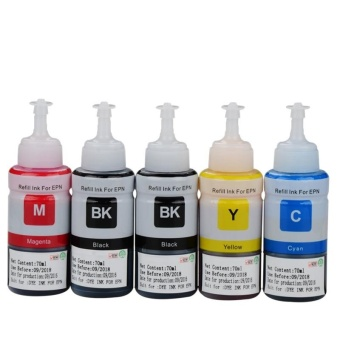 Refill ink kit Printer ink for All in One Epson Ink Tank Printer M220 L100 L110 L120 L220 L132 L210 L222 L300 L310 L312 L355 L350 L362 L385 L455 L485 L550 L565 L566 L655 L800 L805 L850 L1300 L1800 Color Inkjet Printer - intl