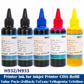 Refill Printer ink CISS Ink For HP 6100 6600 6700 7110 7610 7612 Printer - intl