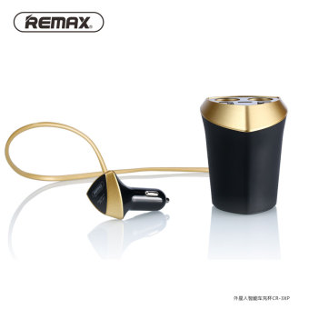ReMax 3usb voltage display car charger cup car battery