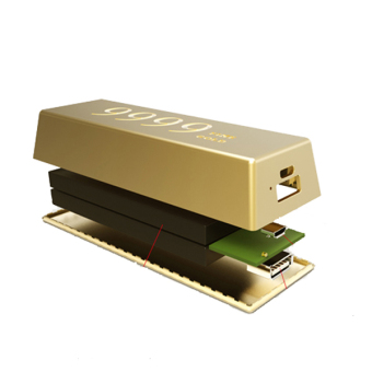 Remax 6600mAh Gold Bar Power Bank - picture 2