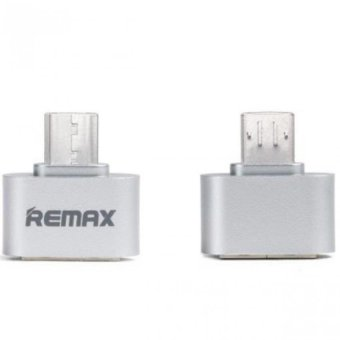 Remax RA-OTG USB 2.0 to Micro USB Connection Kit Adapter (Silver)