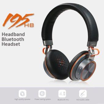 remax rb 195hb v4 1 bluetooth headset black lazada ph. Black Bedroom Furniture Sets. Home Design Ideas