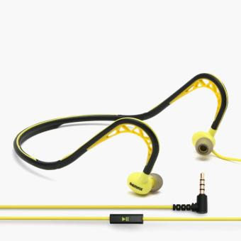 Remax Sports Wired Headset (Yellow)