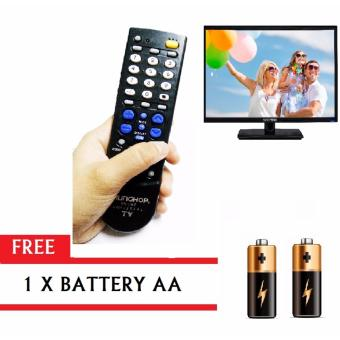 REMOTE CHUNGHOP 00616 RM-136E Universal TV Remote Control with FREEBattery