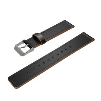 Replacement Luxury Leather Band Strap Bracelet For Fitbit Charge 2GN - intl - 3