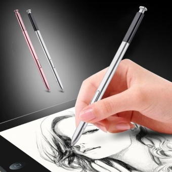Replacement Portable High Sensitive Stylus Touch Pen For SamsungGalaxy Note5 Silver - intl