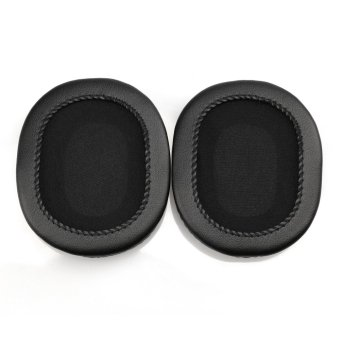 Replacement Protein Leather Ear Pads Cushion for Audio-technicaATH-M40x M50 M50S M20 M30 M40 ATH-SX - 3