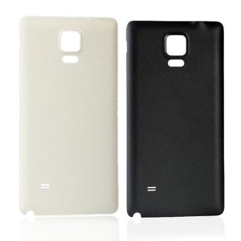Replacement Rear Case Door Cover For Samsung Galaxy Note 4 White - intl