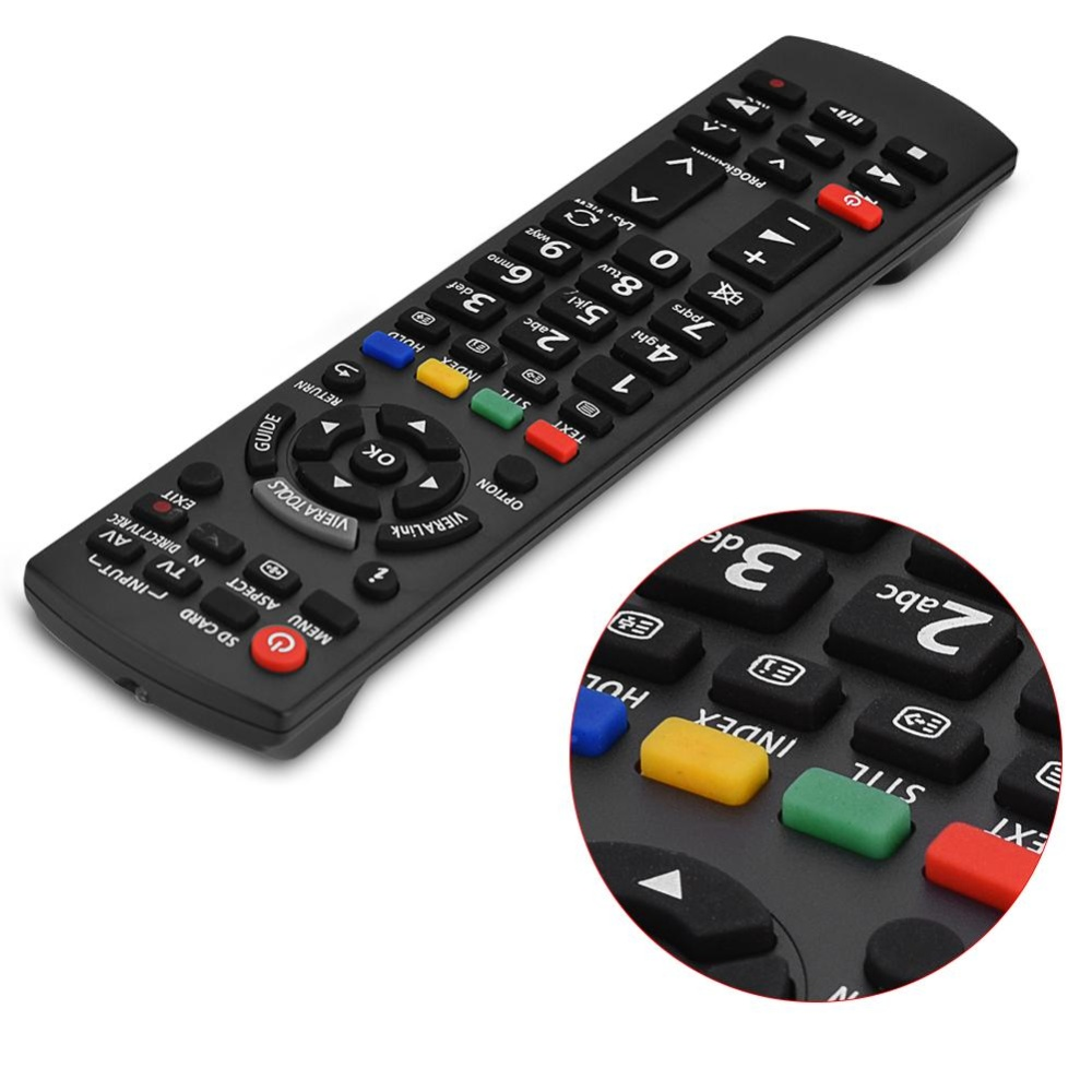 ... Replacement Smart TV Remote Control Television Controller for Panasonic N2QAYB000487 intl