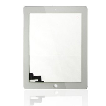 Replacement White Touch Screen Glass Digitizer For iPad 2 2nd -intl