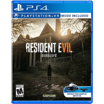 RESIDENT EVIL 7 PS4 GAME (R3,R1) MINT CONDITION