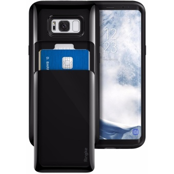 Ringke Access Wallet Case for Samsung Galaxy S8 (Gloss Black)