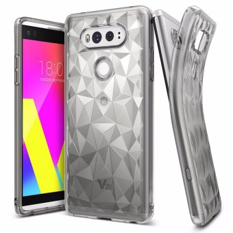 Ringke Air Prism TPU Stylish Case for LG V20 (Smoke Black) Price Philippines