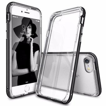 Ringke Frame Bumper Cover Case for Apple iPhone 7 Plus/ Iphone 8 Plus (Black)