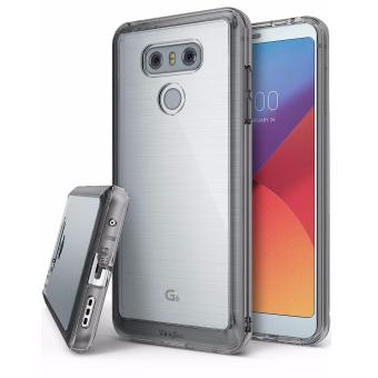 Ringke Fusion Bumper Cover Case for LG G6 (Smoke Black)