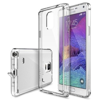 Ringke Fusion PC And TPU Back Cover Case For Samsung Galaxy Note 4 (Clear) - intl