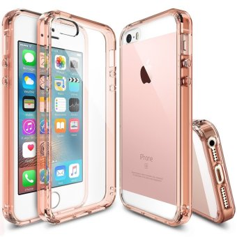 Ringke Fusion PC/TPU Case for Apple iPhone SE/5S/5/5 (Rose Gold)