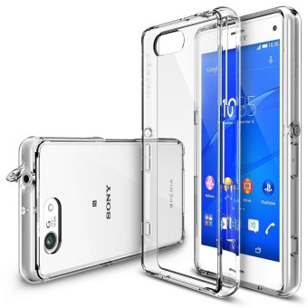 Ringke Fusion TPU Bumper Case for Sony Xperia Z3 Compact (Clear)