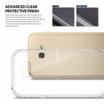 Ringke Fusion TPU Cover Case for Samsung Galaxy A5 2017 (Clear) - 3
