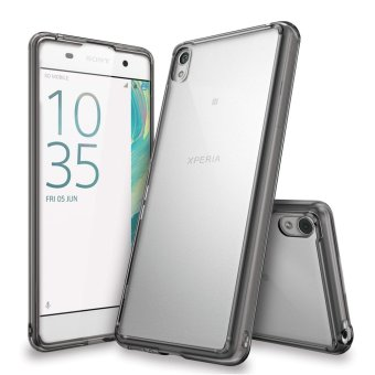 Ringke Fusion TPU Cover Case for Sony Xperia XA (Smoke Black)