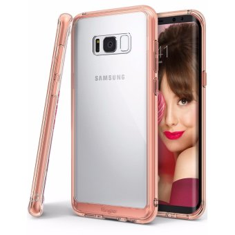 Ringke Fusion Case for Samsung Galaxy S8 Plus (Rose Gold)