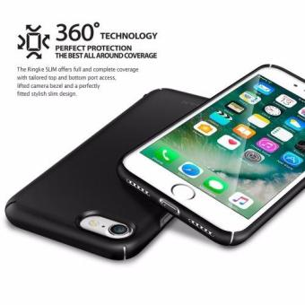 Ringke Slim Ultra Thin Cover Case for Apple iPhone 7/ Iphone 8 (Glossy Black) - 2